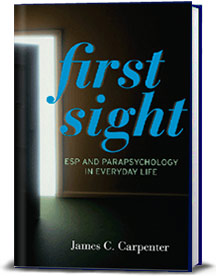 Book cover for First Sight: ESP and Parapsychology in Everyday Life