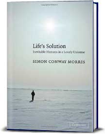 Book cover for Life's Solution: Inevitable Humans in a Lonely Universe