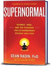 Book cover for Supernormal: Science, Yoga, and the Evidence for Extraordinary Psychic Abilities